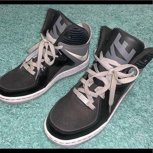 Black & Gray High tops